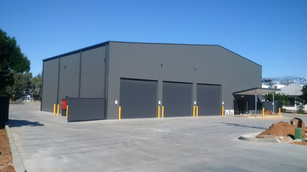 Industrial shed for Council