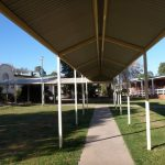 Covered Walkway for Leeton school