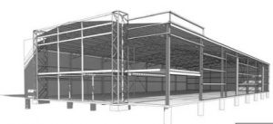 Warehouse engineering CAD drawings for Wagga Shed project