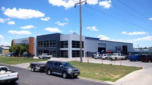 Warehouse construction project for Wagga business