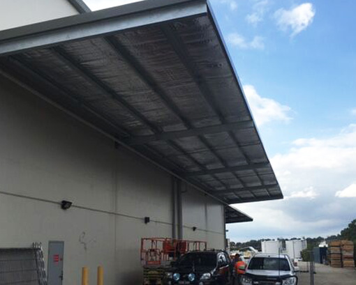 Cantilever Awnings for Buildings Sydney - Asset Building ...