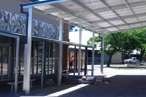Complete school covered outdoor learning area (COLA) construction project